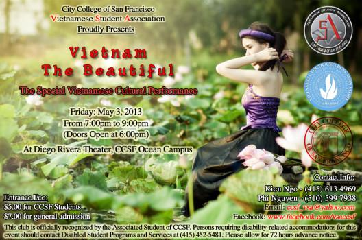 """Đêm Văn Nghệ của VSA CCSF """"Đẹp lắm Việt Nam ơi!"""""""