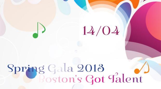 Spring Gala 2013 – Boston's Got Talent