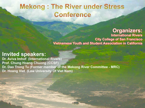 "Hội Thảo Khoa Học Sông Mekong (""The Mekong: A River Under Stress"")"