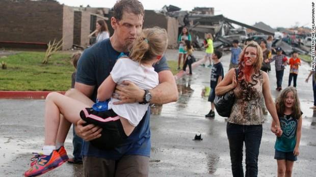 24 người chết vì vòi rồng ở Oklahoma