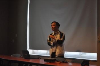 Anh Cường Nguyễn trình bày về chủ đề GMO và an toàn thực phẩm
