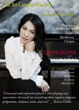 Chương trình Solo Piano Recital do nghệ sỹ Nguyễn Thúy Quỳnh trình diễn