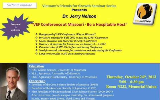 Vietnam's Friends for Growth Seminar Series