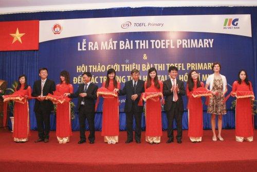 Chính thức ra mắt bài thi Toefl Primary dành cho học sinh tiểu học Việt Nam