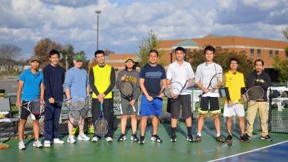 Các tay vợt tham dự giải