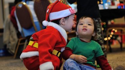 Các cháu thiếu nhi, Giáng sinh 2013