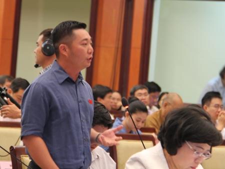 Ông Lê Trương Hải Hiếu lên chức Phó chủ tịch quận