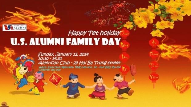 Family Day tại Việt Nam cho tất cả du học sinh Mỹ