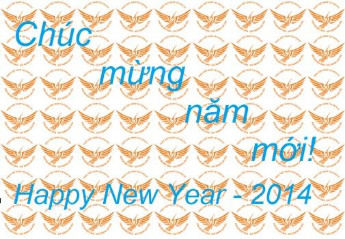 Chúc mừng năm mới – Happy New Year 2014