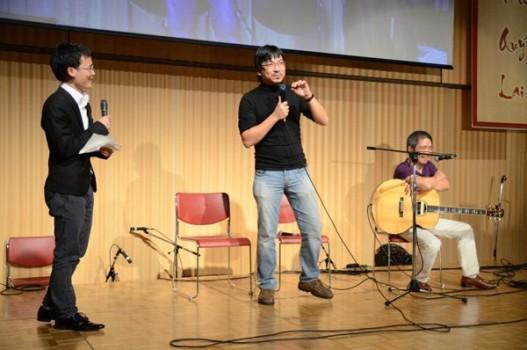 Giáo sư Xoay tất bật cùng du HS chuẩn bị đại hội Tết ở Nhật