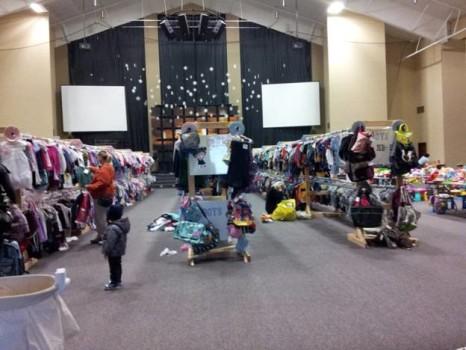 Kids sale – Chợ đồ cũ cho trẻ em ở Mỹ