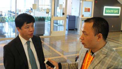 Đại sứ Nguyễn Quốc Cường: đánh giá cao  trang tin www.sinhvienusa.org
