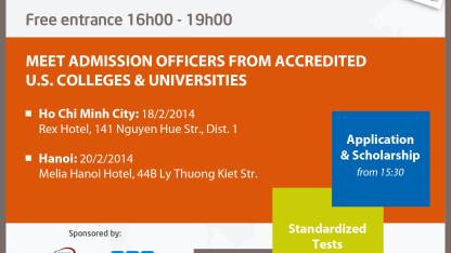 Thông tin du học học bổng VEF 2014 tại Hà Nội