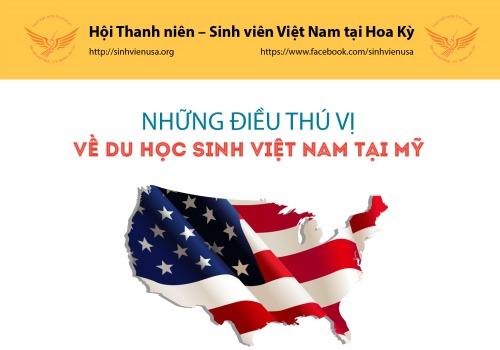 Những thông tin thú vị về du học sinh Việt Nam tại Mỹ