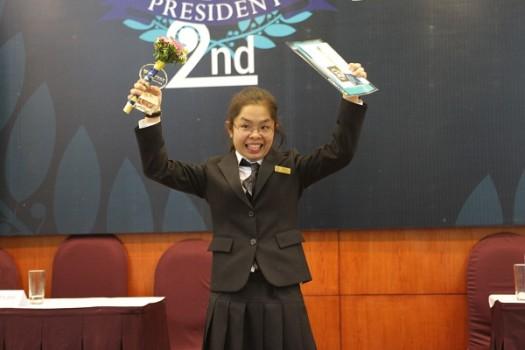 Ivy President 2nd gay cấn như tranh cử Tổng thống