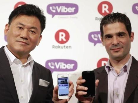 Viber hầu như không có doanh thu, Nhật mua làm gì?
