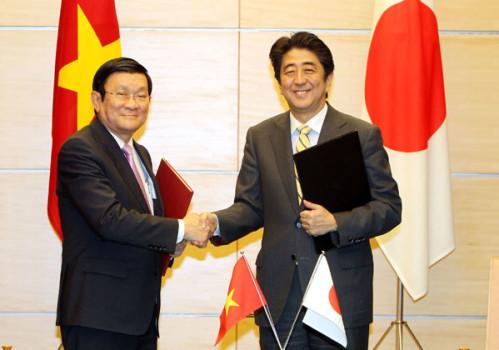 Việt Nam – Nhật Bản trở thành đối tác chiến lược sâu rộng