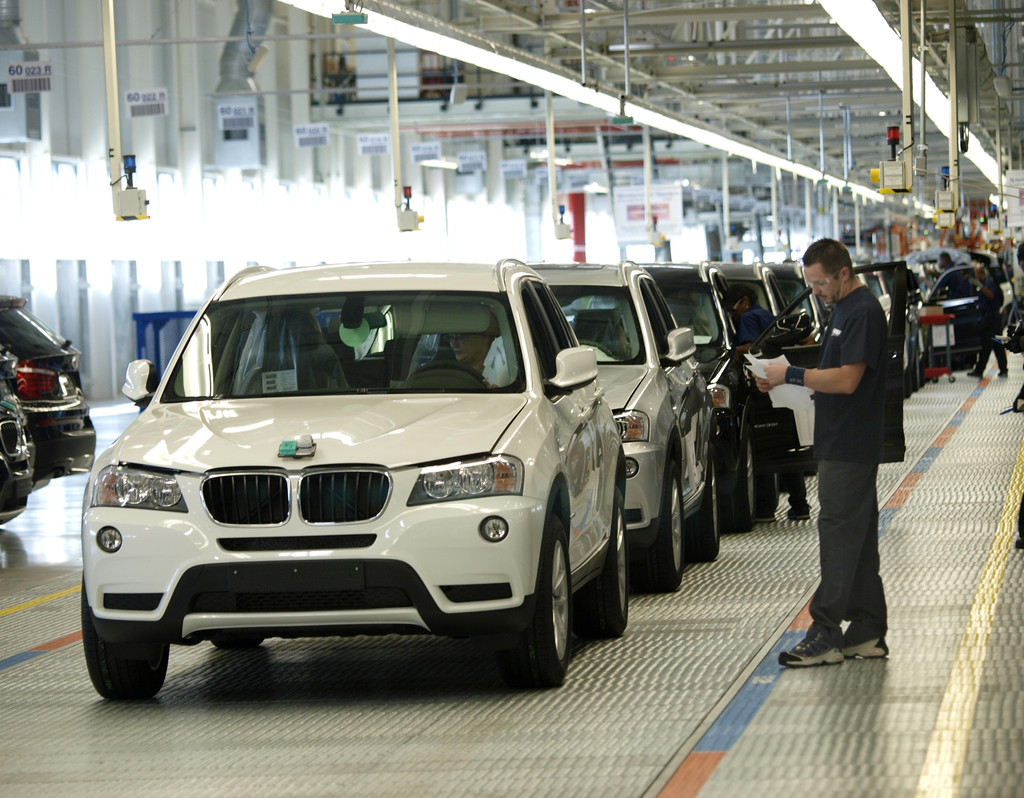 BMW Expands Greer Plant