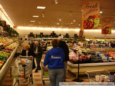Chợ và siêu thị ở vùng Boston