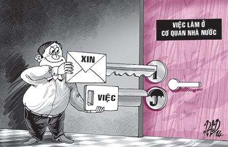 Công bố chỉ số PAPI 2013: Nhức nhối nạn hối lộ trong lĩnh vực công