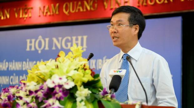 Ông Võ Văn Thưởng làm phó bí thư Thành ủy TP.HCM