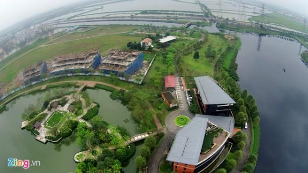 Toàn cảnh công viên đô thị lớn nhất Việt Nam