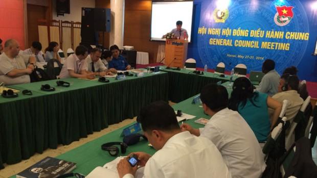 Thanh niên Dân chủ thế giới phản đối hành động của Trung Quốc