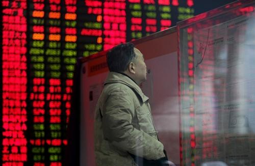 Chứng khoán Trung Quốc giảm mạnh nhất thế giới