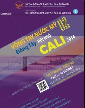 Kế hoạch tổ chức sự kiện Vòng tay nước Mỹ 2 – Đông Tây Hội ngộ Cali 2014