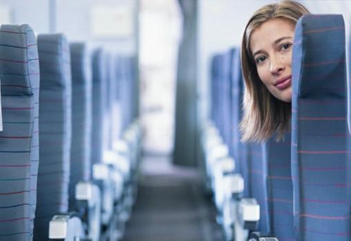 Lần đầu mẹ đi máy bay