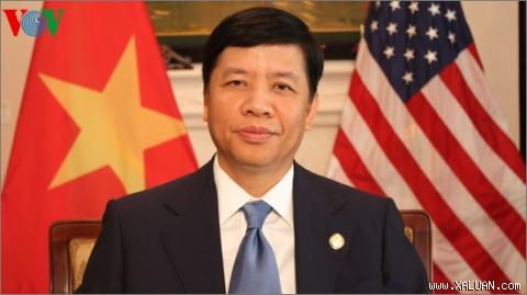 Đại sứ Nguyễn Quốc Cường: Các bạn hãy luôn Máu lửa, Năng động và Sáng tạo.