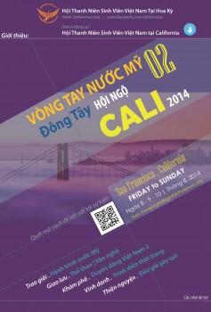 Thông báo tuyển chọn tiết mục Vòng tay nước Mỹ 2- Đông tây Hội ngộ Cali 2014