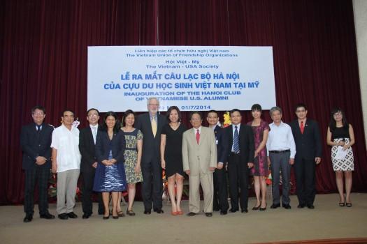 Ra mắt câu lạc bộ Hà Nội của Cựu du học sinh Việt Nam tại Mỹ