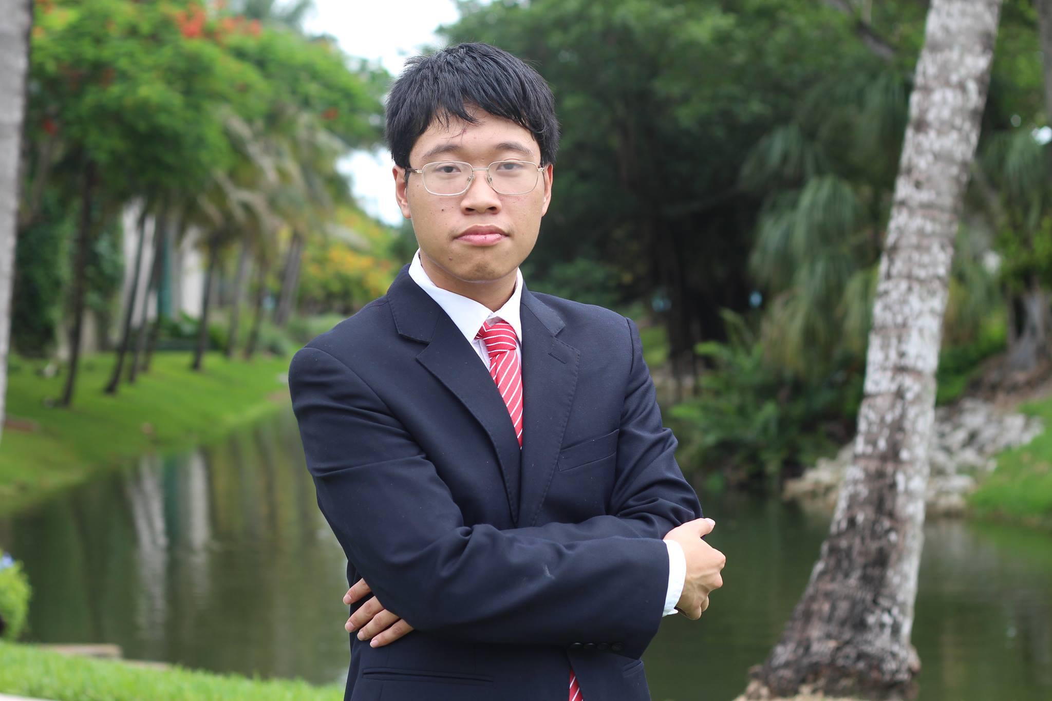 Linh Nghiêm - Đồng chủ tịch VietAbroader. ảnh KTL
