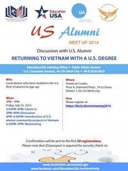 Gặp mặt cựu du học sinh Mỹ tại TP Hồ Chí Minh