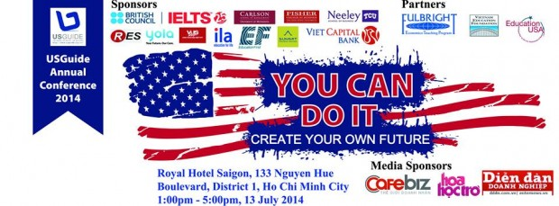 "Tp Hồ Chí Minh: Hội thảo ""You can Do It 2014"" – Create Your Own Future"