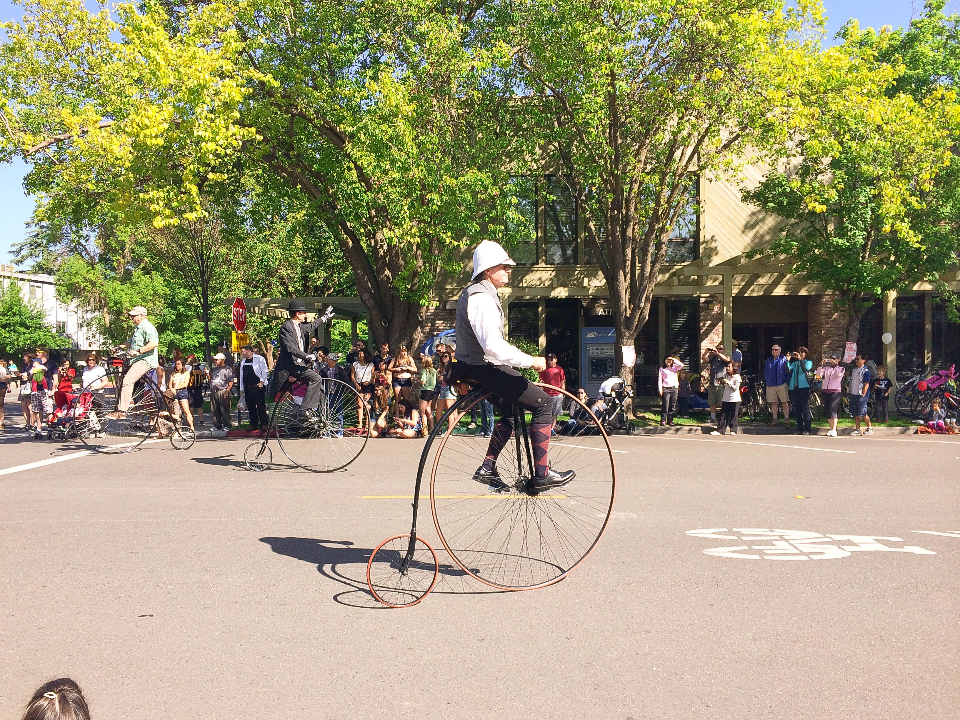 Chiếc xe đạp này cũng là biểu tượng của thành phố