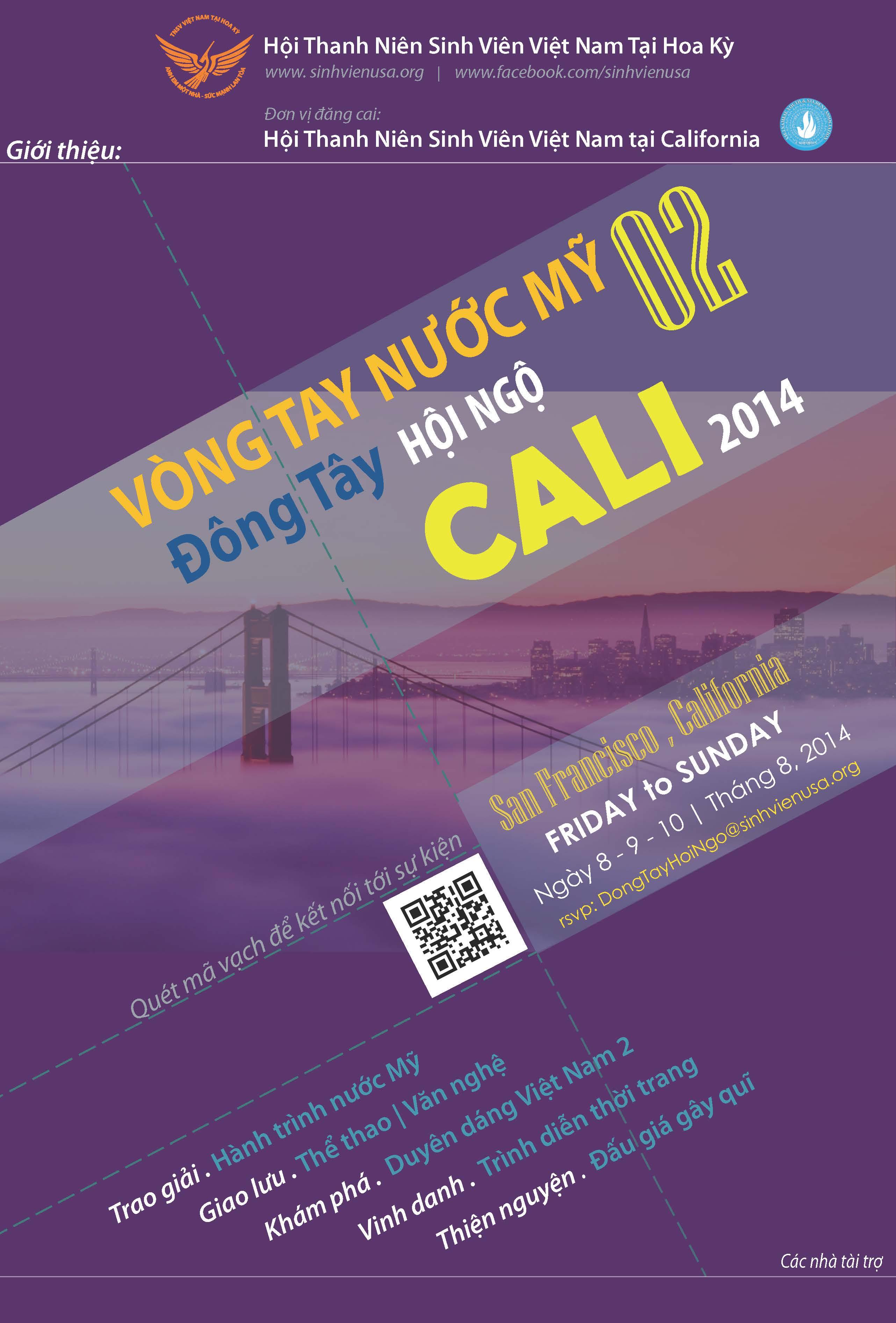 Cuộc thi Hành trình nước Mỹ lần 2 với chủ đề Thành phố tôi yêu do Hội Thanh niên, Sinh viên Việt Nam tại Hoa Kỳ tổ chức đã thu...