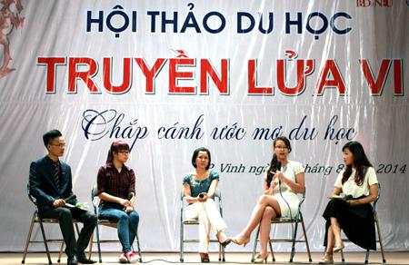 Nghệ An: Hơn 1000 bạn trẻ thổi bùng khát khao du học