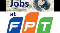 Công ty FPT đang tuyển người nước ngoài cho các vị trí sau đây tại Việt Nam. Đây là cơ hội tốt để giới thiệu đến bạn bè quốc tế...