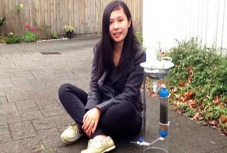 Cô gái Việt thi sáng tạo khoa học kỹ thuật của Google