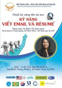 """Hội thảo chuyên đề """"Kỹ năng viết email và resume"""""""