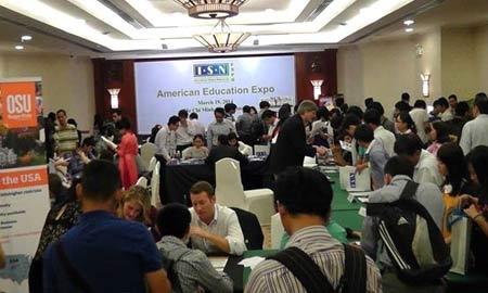 Hội thảo Triển lãm Du học Mỹ tại Hà Nội và TP Hồ Chí Minh