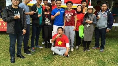 Ngày hội Orientation Day tại University of Wollongong ( Ảnh do nhân vật cung cấp)