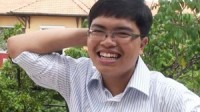 Nguyễn Trung Hiếu tác giả bài văn lạ có hoàn cảnh gia đình rất khó khăn nhưng đã luôn biết vươn lên trong học tập sẽ lên đường du học...