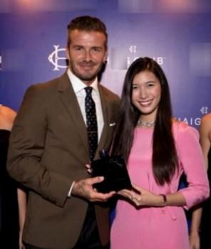 Ái nữ tập đoàn nghìn tỷ ăn tối cùng David Beckham