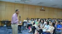 Theo thông tin từ American Center Hanoi (thuộc Đại sứ quán Mỹ tại Hà Nội), trung tâm này sẽ tổ chức lớp luyện thi TOEFL và IELTS miễn phí trong...