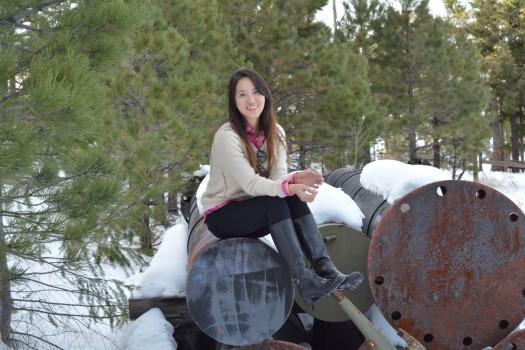 Chùm ảnh: Nụ cười nữ sinh Bình Định giữa vùng núi tuyết Arizona