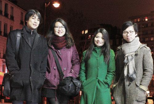 Du học sinh Việt giành giải thưởng kiến trúc quốc tế