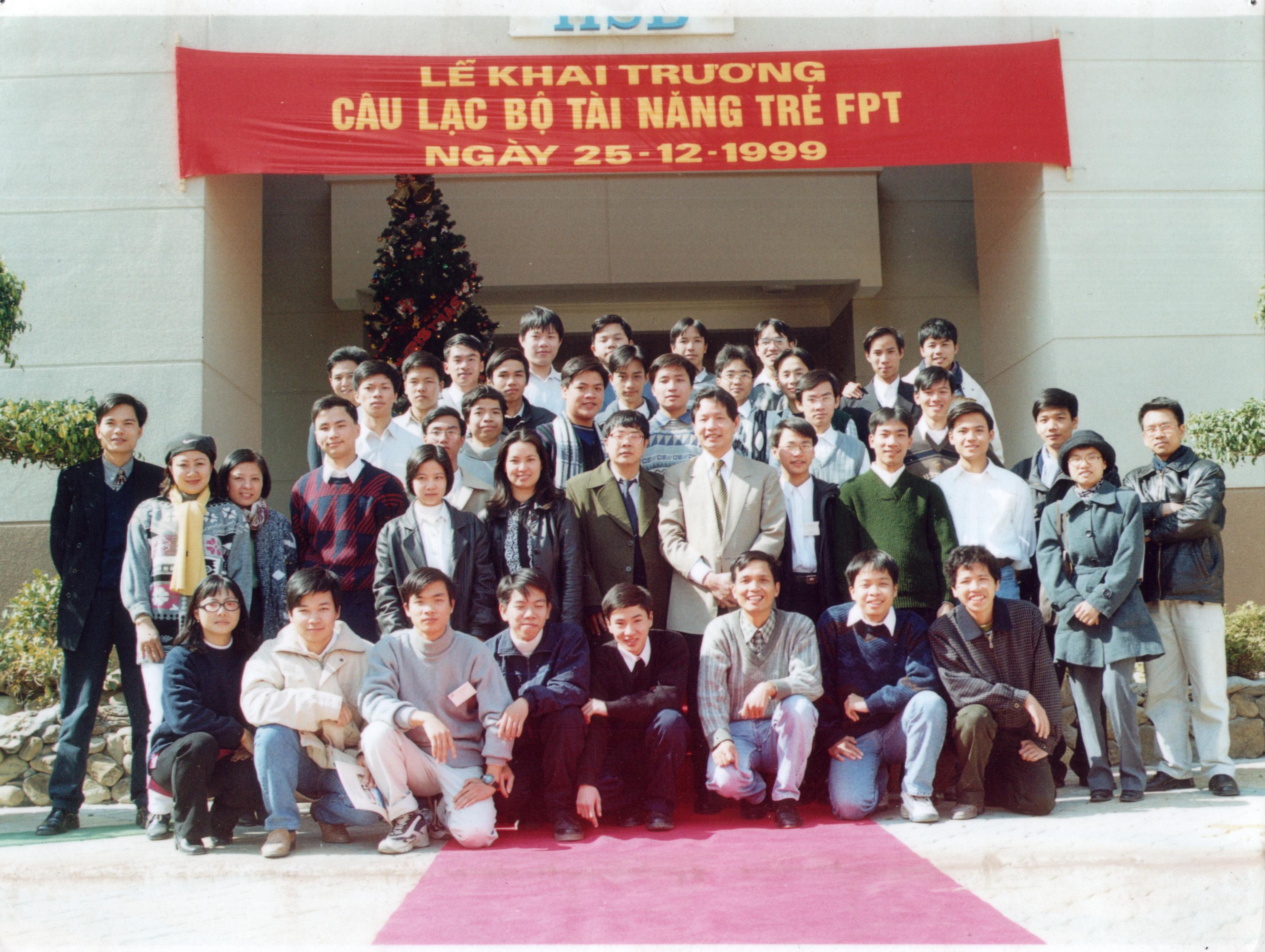 Nguyễn Quang Dũng từng tham gia Trung tâm tài năng trẻ FPT (FYT)